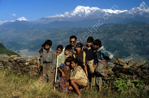 Annapurna children