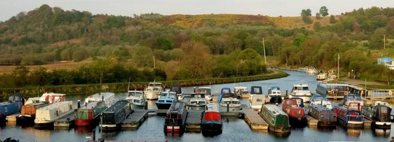 Auchinstarry Marina by Susan McStay