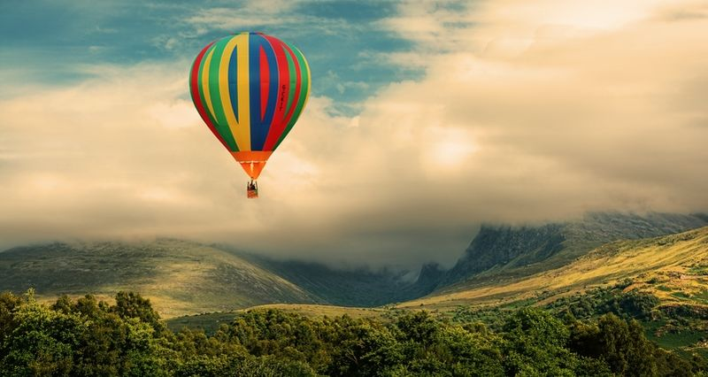 Ballooning In The Lake District