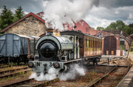 Beamish Train