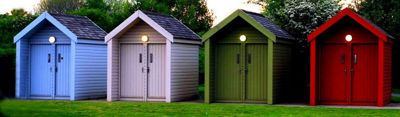 Canal Huts