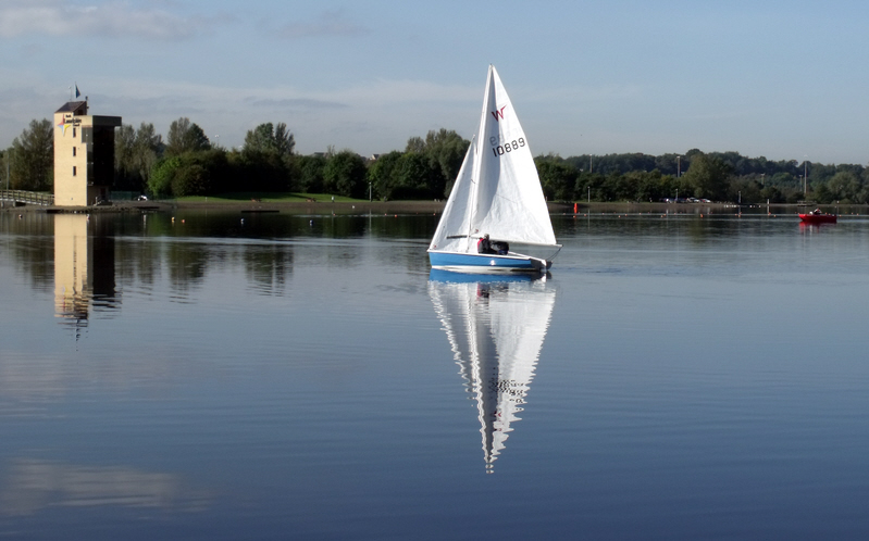 Yacht At Strathclyde Park