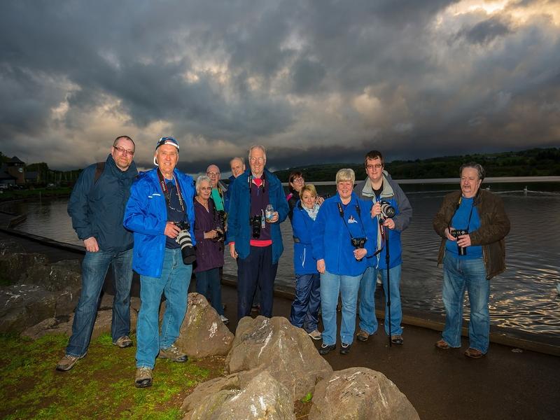 Alba members enjoy an evening at Castle Semple, Lochwinnoch