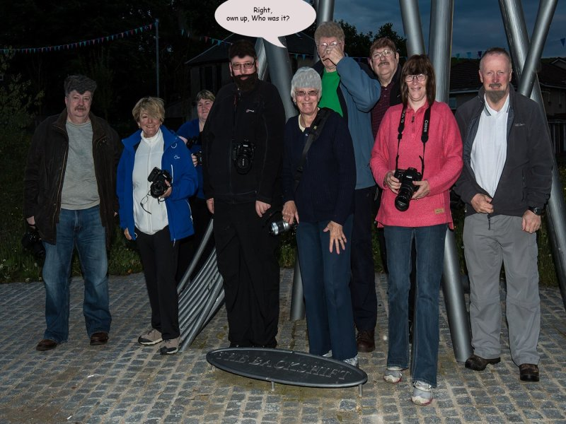 Alba members enjoy a summer night outing in Shotts and surrounding area