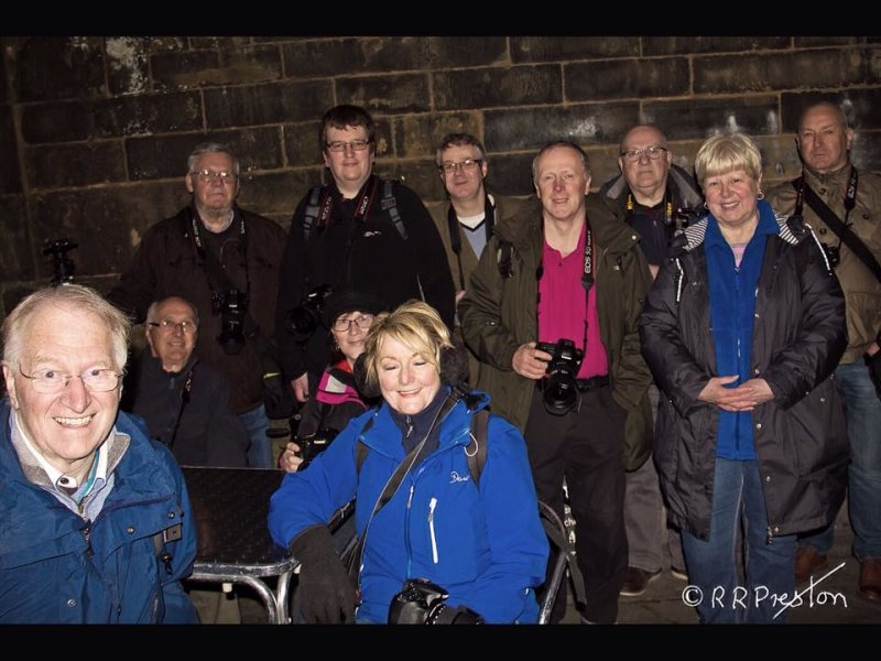 Alba members enjoy a summer night outing in Edinburgh
