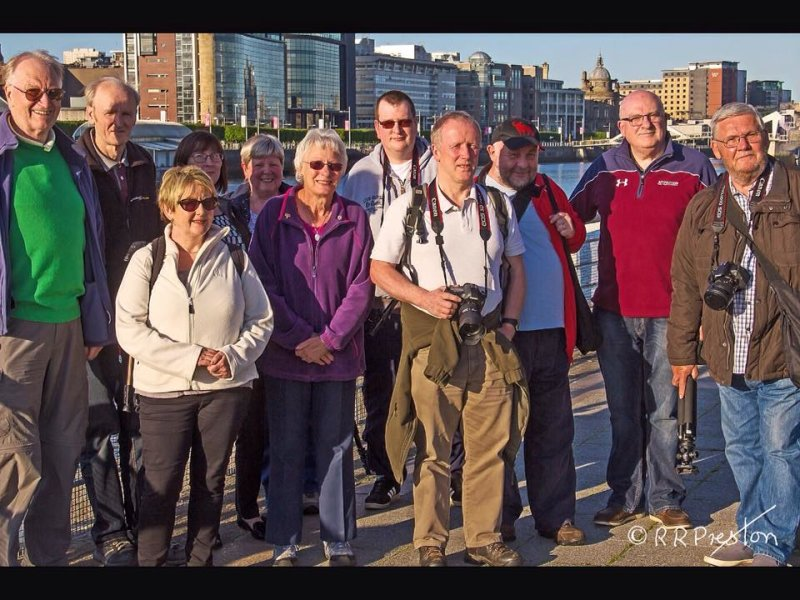 Alba members enjoy a summer night outing in Glasgow