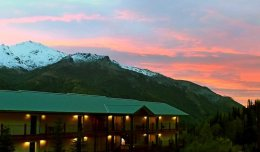 Sunset at Lodge