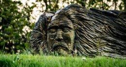 Wood Sculpture by Elizabeth Brown