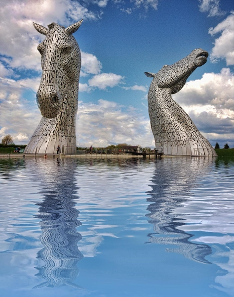 Andy Scott Sculptures, The Kelpies