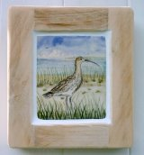 David Salsbury Curlew tile panel