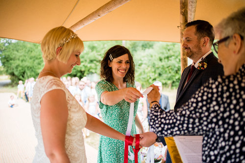 Katy & James handfasting