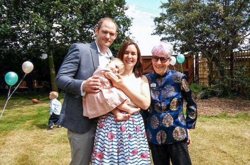 Isobel's Naming ceremony1