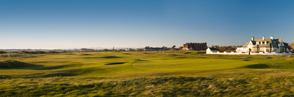 Panoramic view of 2nd of Royal troon