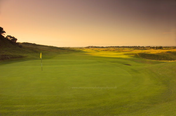6th green of Old Course