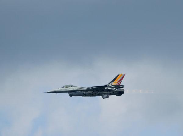 F-16 after burner