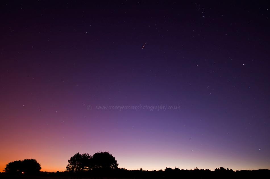 Morning Shooting star