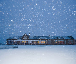 Royal Troon by the snow