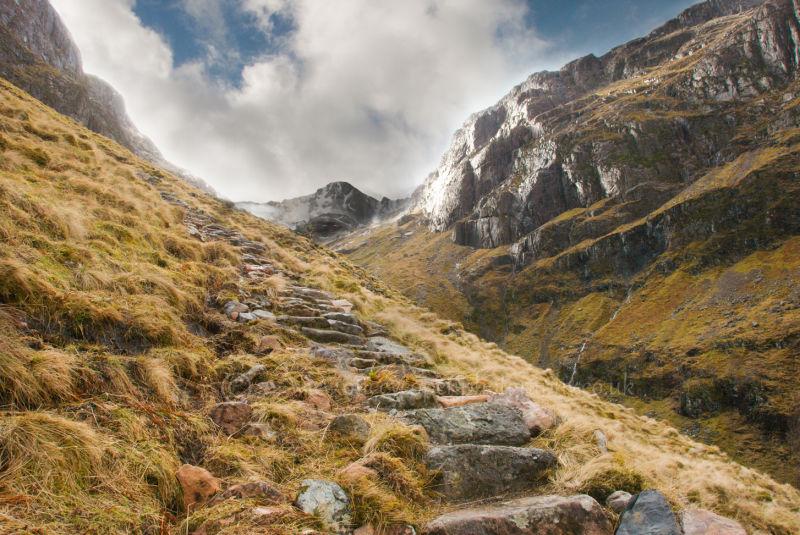 Nan Lochan view