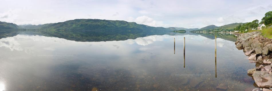 Floating on Loch Carron