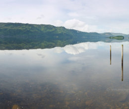 Floating on Loch Carron