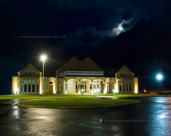 Moon Over Clubhouse.