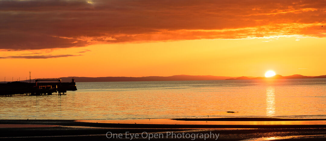 Troon Harbour pano