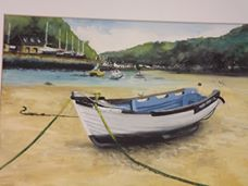 High and Dry  Solva by Dave Sims