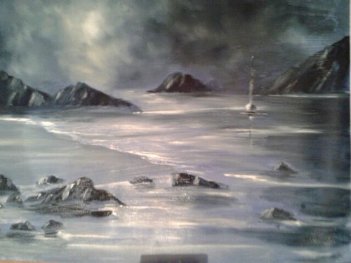 Harbour Entrance, Solva by Delith Williams