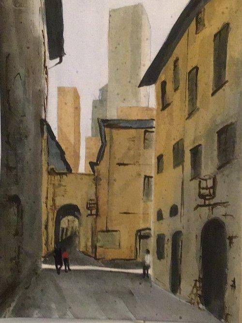 San Gimignano by Sarah Burns