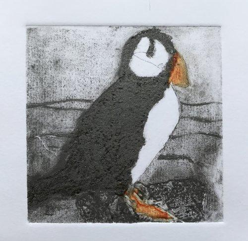 Puffin Handmade Print
