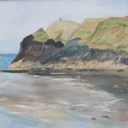 Abereiddy Headland by Maggie Humble