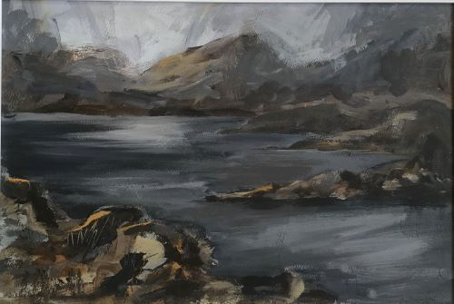 Ardannoch, NW highlands by Sarah Burns
