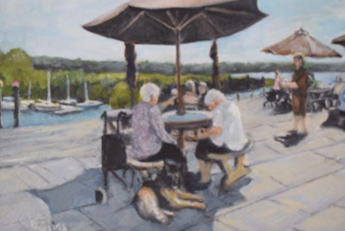 At the Marina Cafe