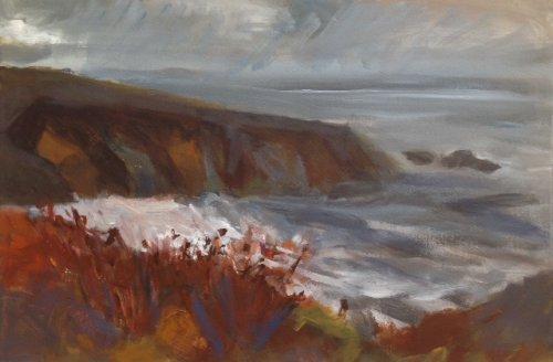 Autumn: Caerfai Bay by Nicola Schoenenberger
