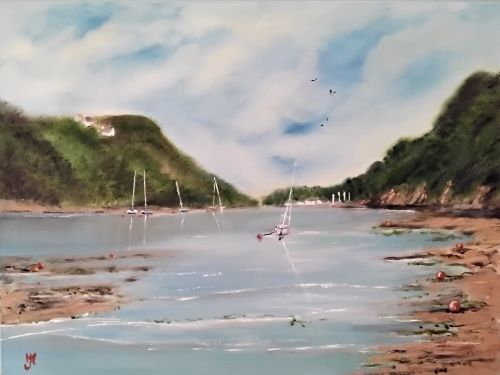 Buoys Zone, Solva by Jennifer Marshall