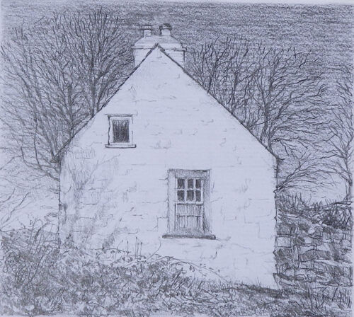 SOLD A Pembrokeshire cottage by Chris Sherwin