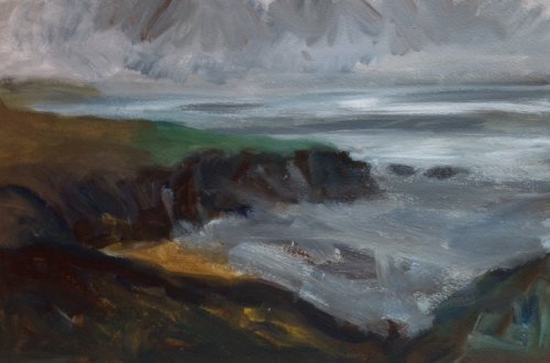 Caerfai Bay Light by Nicola Schoenenberger