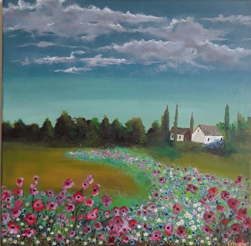 Champ de Fleur by Tony Hughes