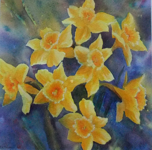 Daffodils by Ruth Coulson