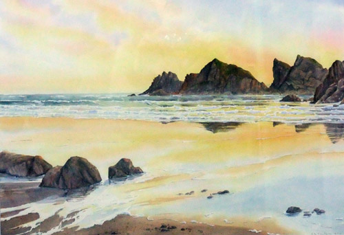 Dinas Fawr, Newgale by Ruth Coulson