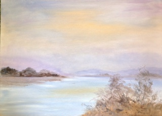 Across the Bay by Maureen Evans