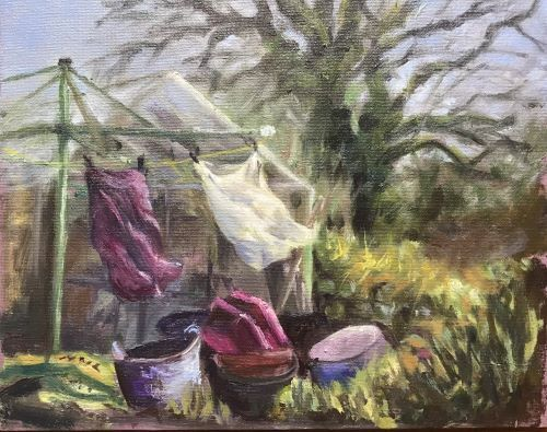 Good Drying Day by Alison Hemingway