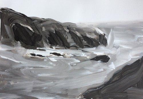 Headland Study 1 by Nicola Schoenenberger