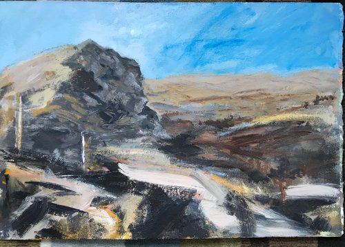 SOLD Garn Fawr, Strumble Head by Sarah Burns