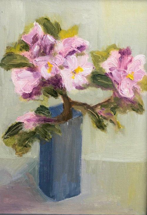Blue Vase by Sarah Burns