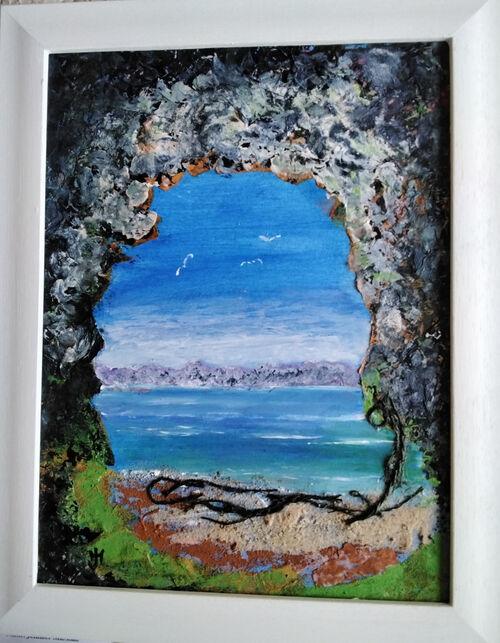 Sea Cave by Jennifer Marshall