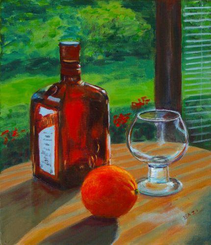In the Orangery by Lett Harris