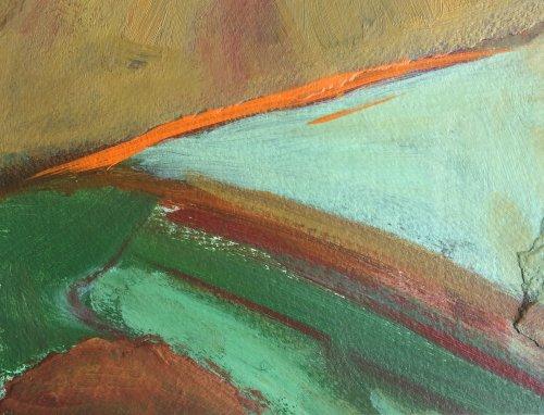 Landscape Study 4 by Nicola Schoenenberger