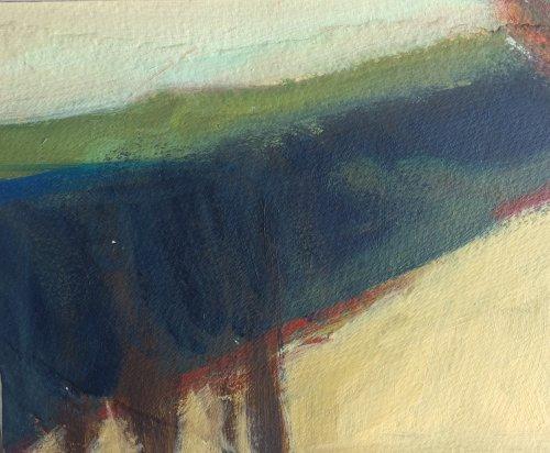 Landscape Study 5 by Nicola Schoenenberger