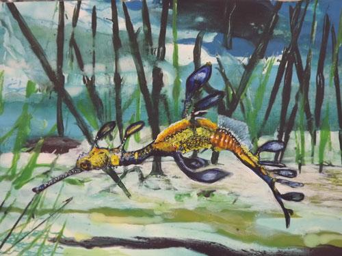 Leafy Seahorse by David Sims